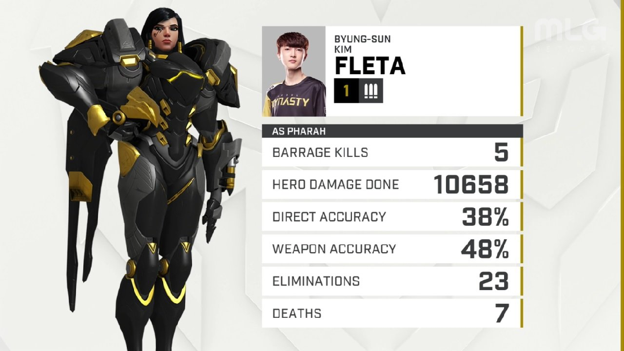 Fleta's Pharah play was beyond transcendant alongside other momentum shifting moments and plays in the Dallas Fuel vs Seoul Dynasty match-up