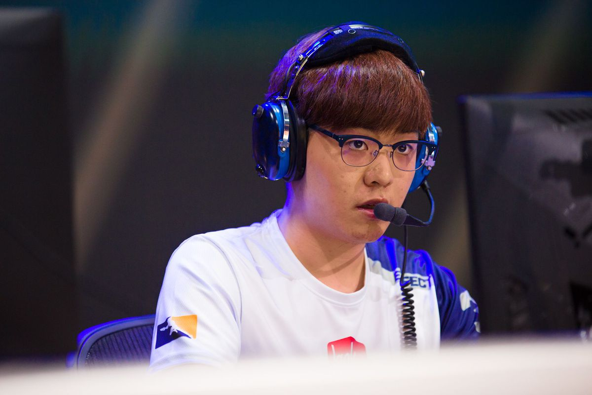 EFFECT is always calm and collected during his matches.