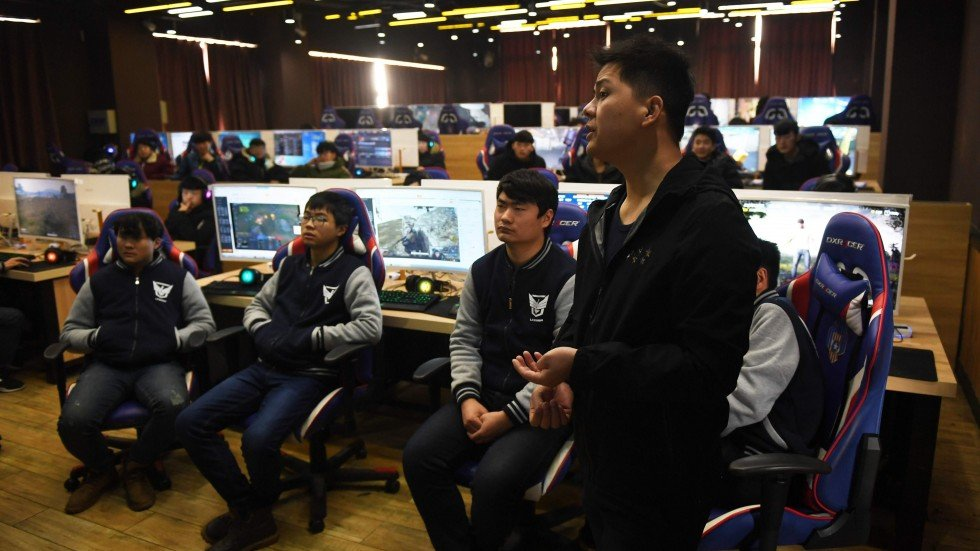 It is not all playing time at Lanxiang Technical School, as students are taught how to have successful careers in the industry.