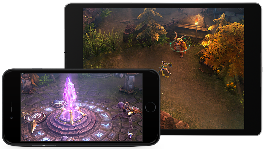 Vainglory on mobile devices (vainglorygame.com