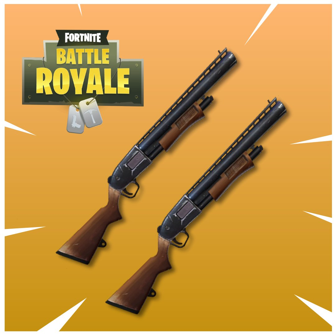 representation of the infamous double pump strategy - fortnite nerf guns pump shotgun