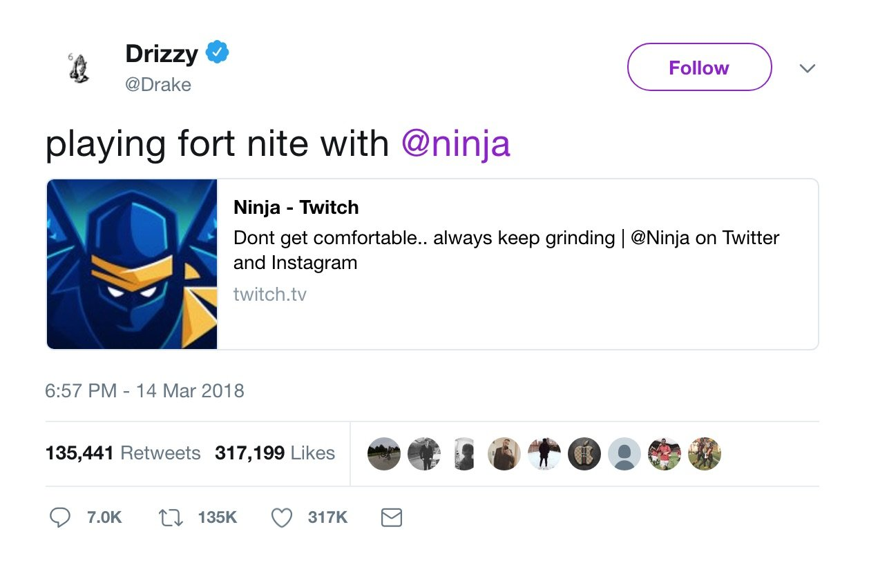 Following Drake Stream, Fortnite Will Host Celebrity