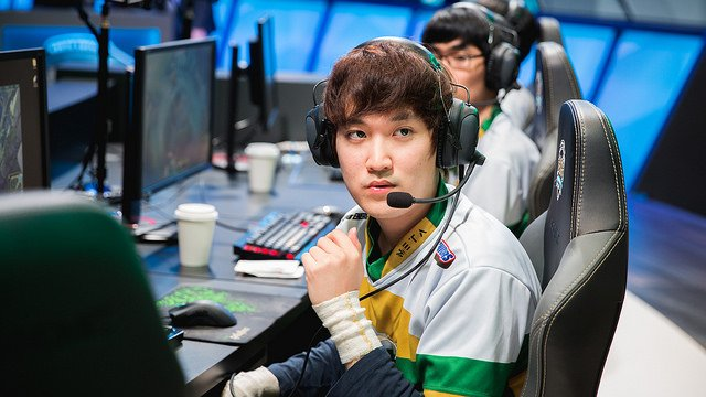 Keane had to fill the gap due to visa issues (LoL Esports Photos, Flickr)