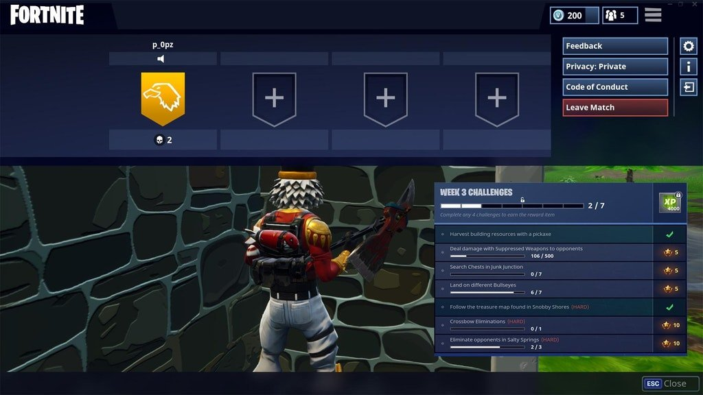 u mahaya s rough mock up of what it could look like inside the pause menu - blitz fortnite clan