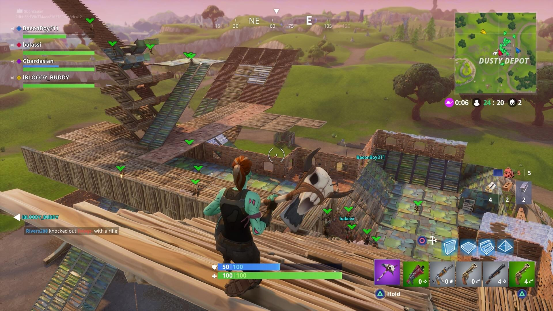 Fortnite A Guide To Combat Building