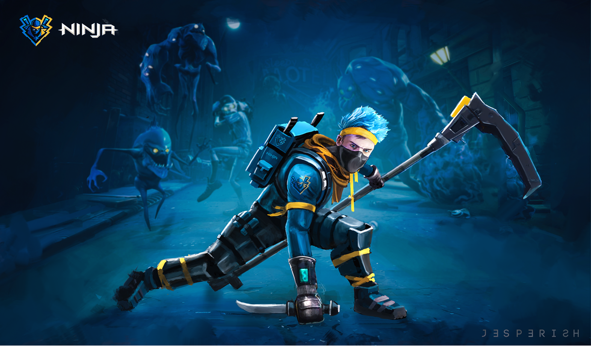 Fortnite Ninja Wallpapers: Ninja Shows Why He Is The Best Fortnite Player In These