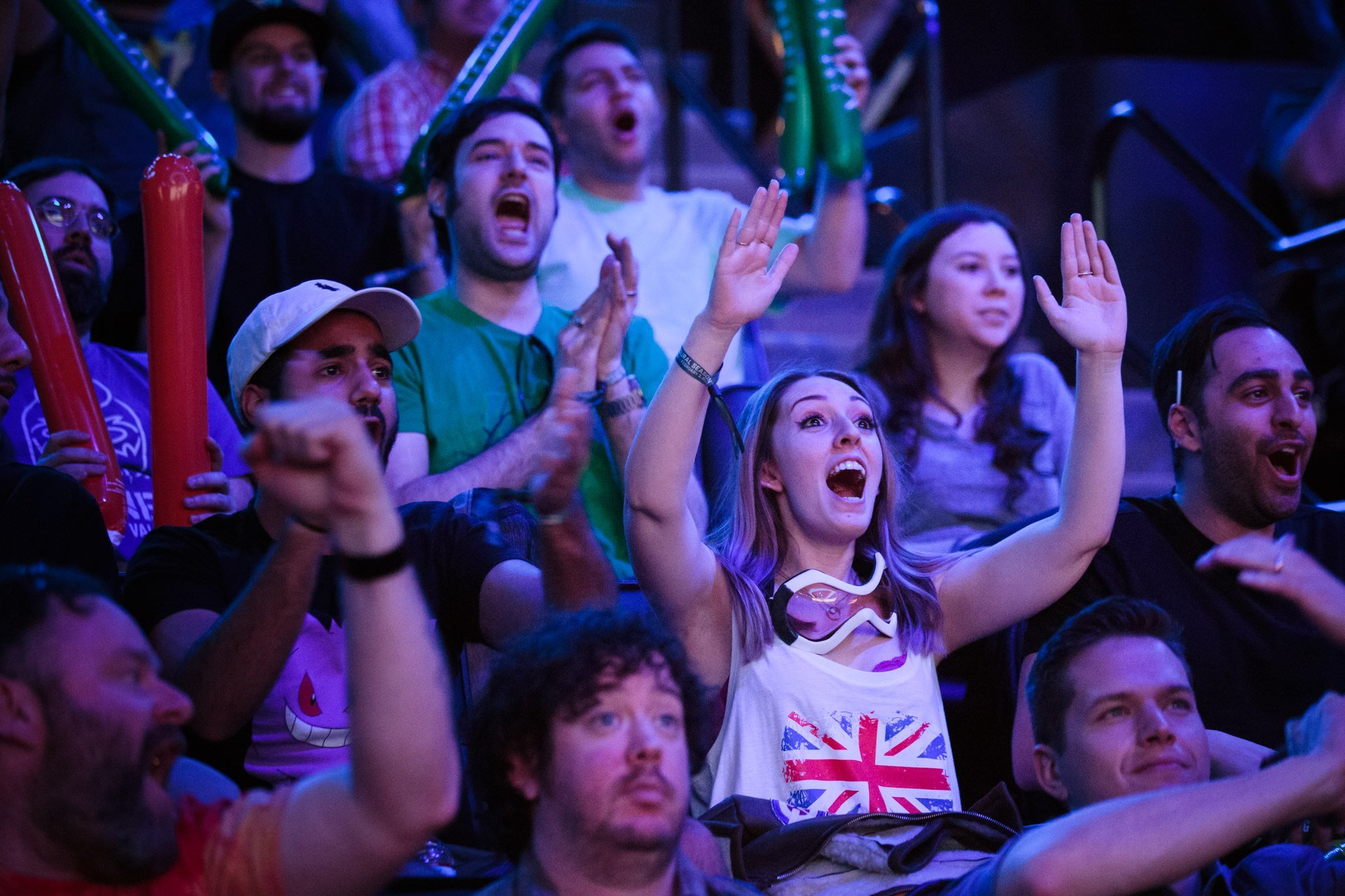 We've already seen that fans of the Overwatch League are willing to group up to catch the action