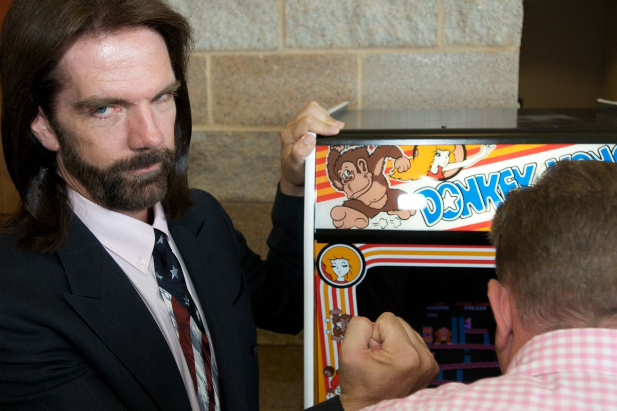 Billy Mitchell is one of the most famous arcade game players in the world