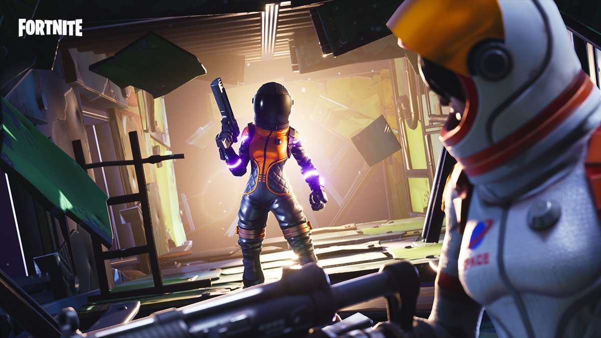 Fortnite's Dark Vanguard Skin is Now Available