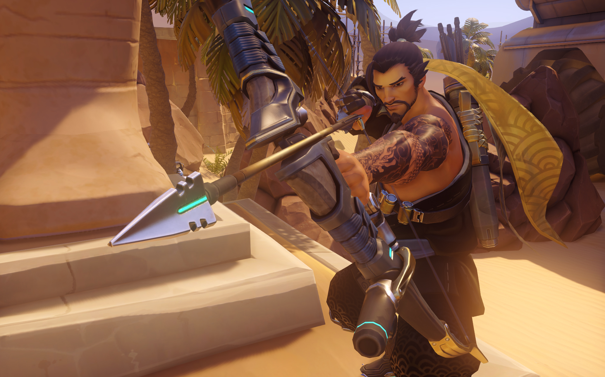 New Overwatch PTR Patch Adds Hanzo Changes and Tweaks Horizon Lunar Colony
