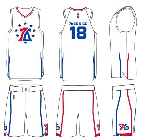 sale retailer 557d9 a7d67 76ers Gaming Club Reveals NBA 2K League Court and Uniforms