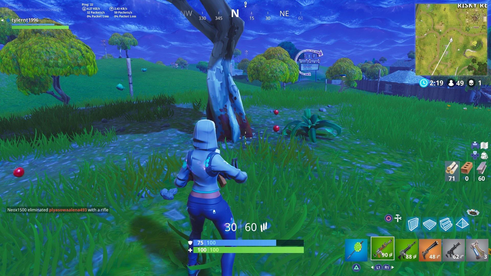A few apples around the bottom of a tree near Risky Reels. Image courtesy of /u  Sqoof on Reddit
