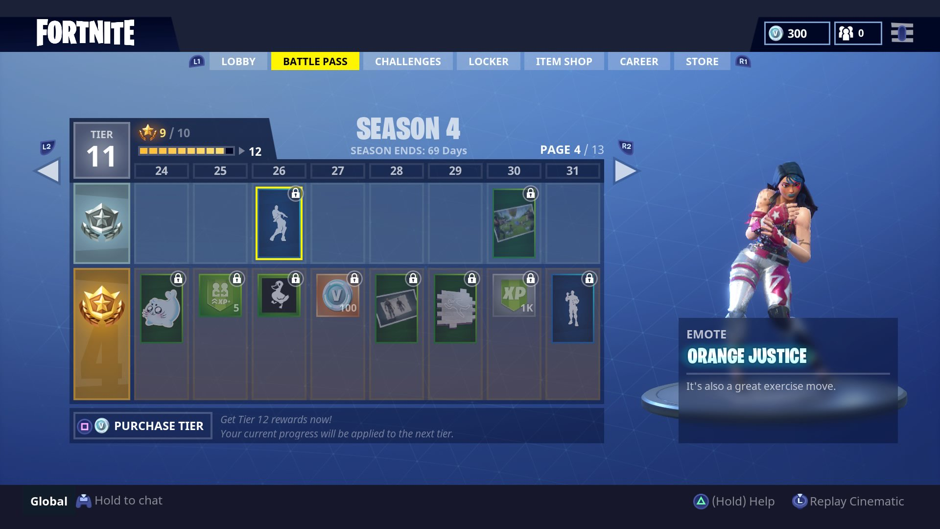 Fortnite Season 4 How To Unlock Omega Skin Orange