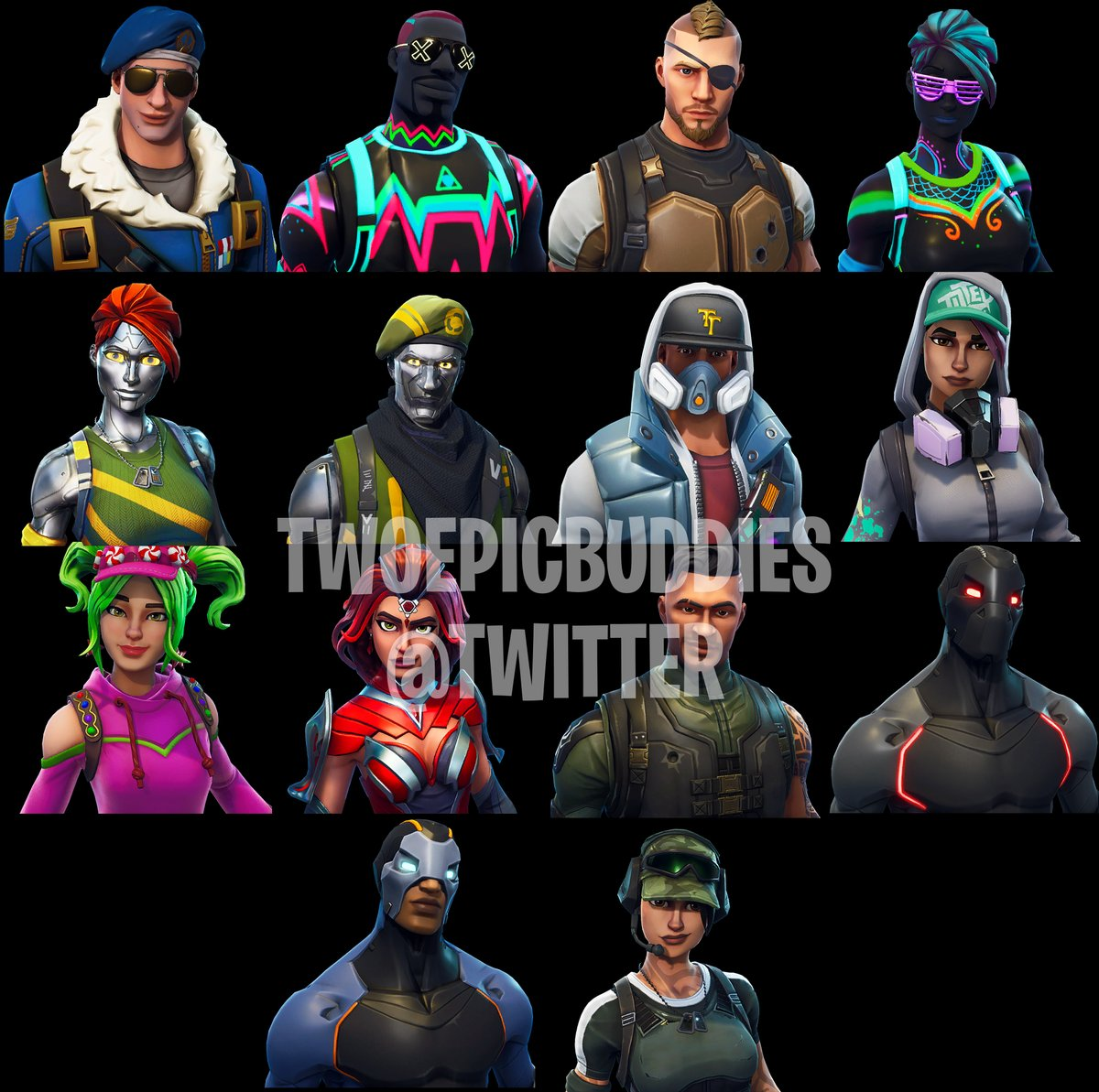 New Fortnite Season 4 Skins and Cosmetic Items Leaked on Twitter