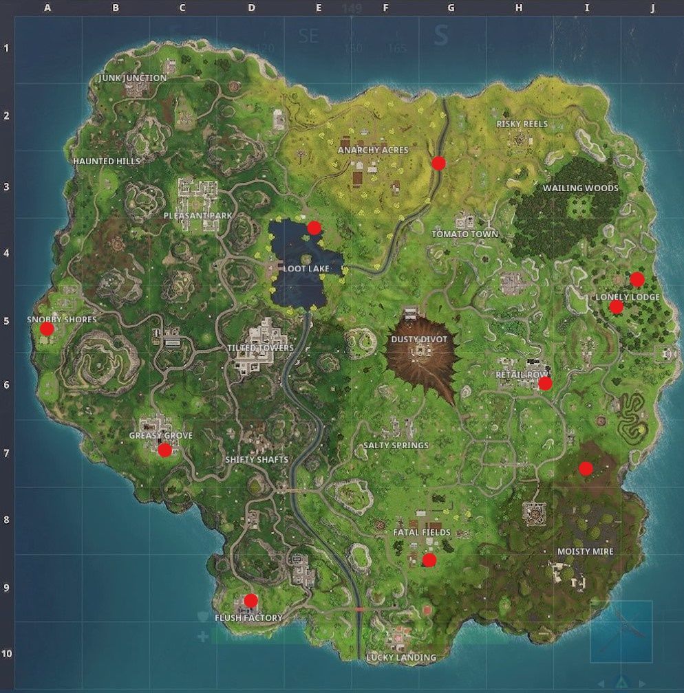 'Fortnite' Season 4, Week 3 Challenges Guide