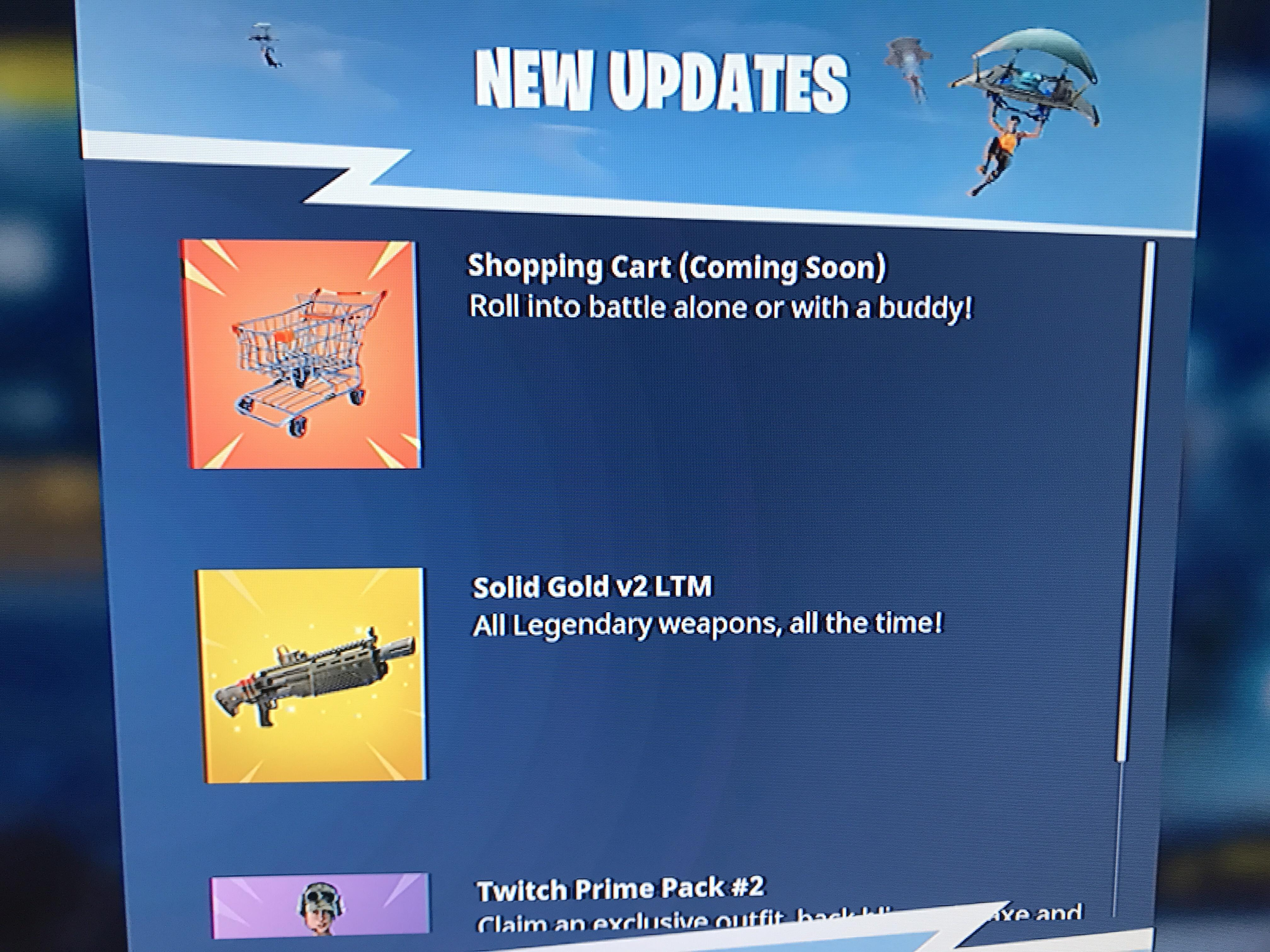 Ride Into Battle Royale With The Upcoming Fortnite Shopping