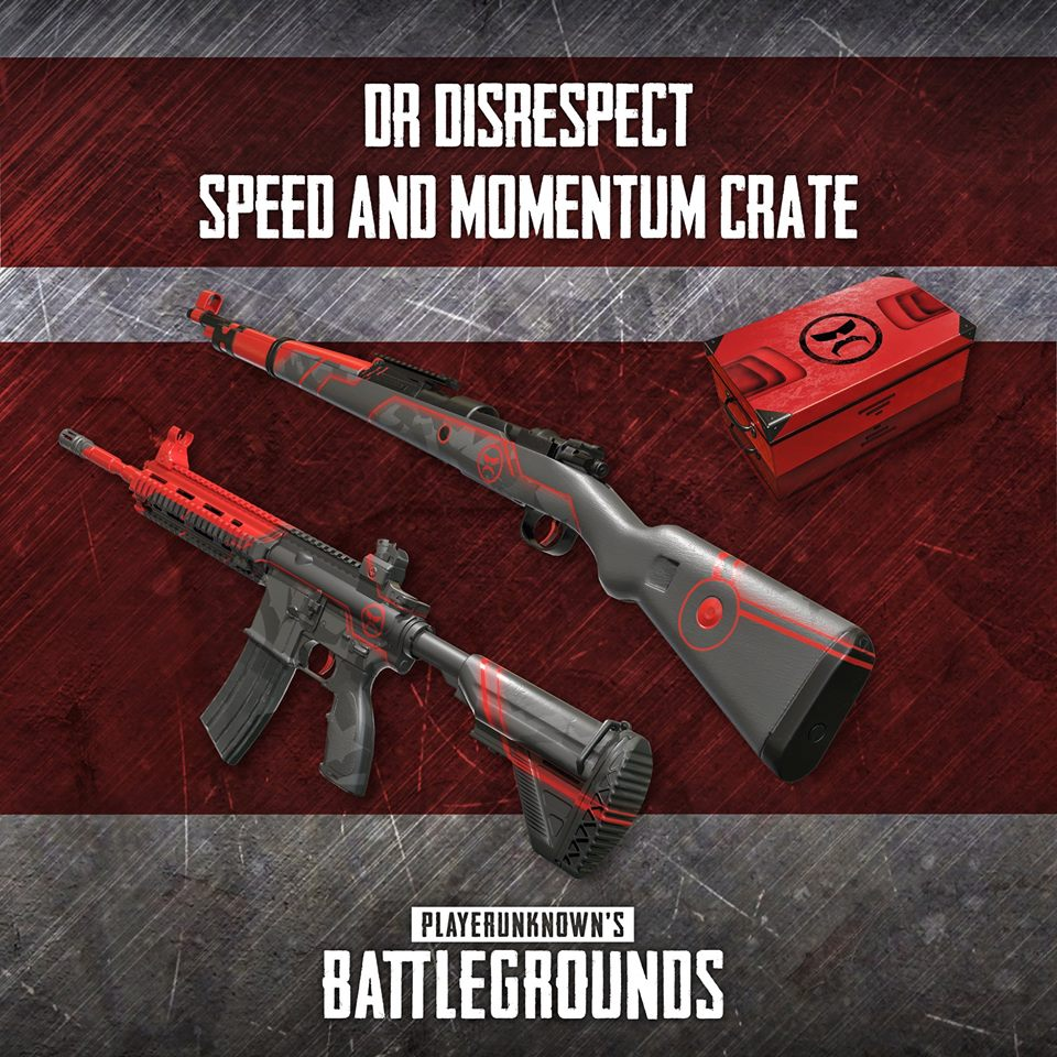Release Date for Dr  Disrespect and Shroud PUBG Skins Announced