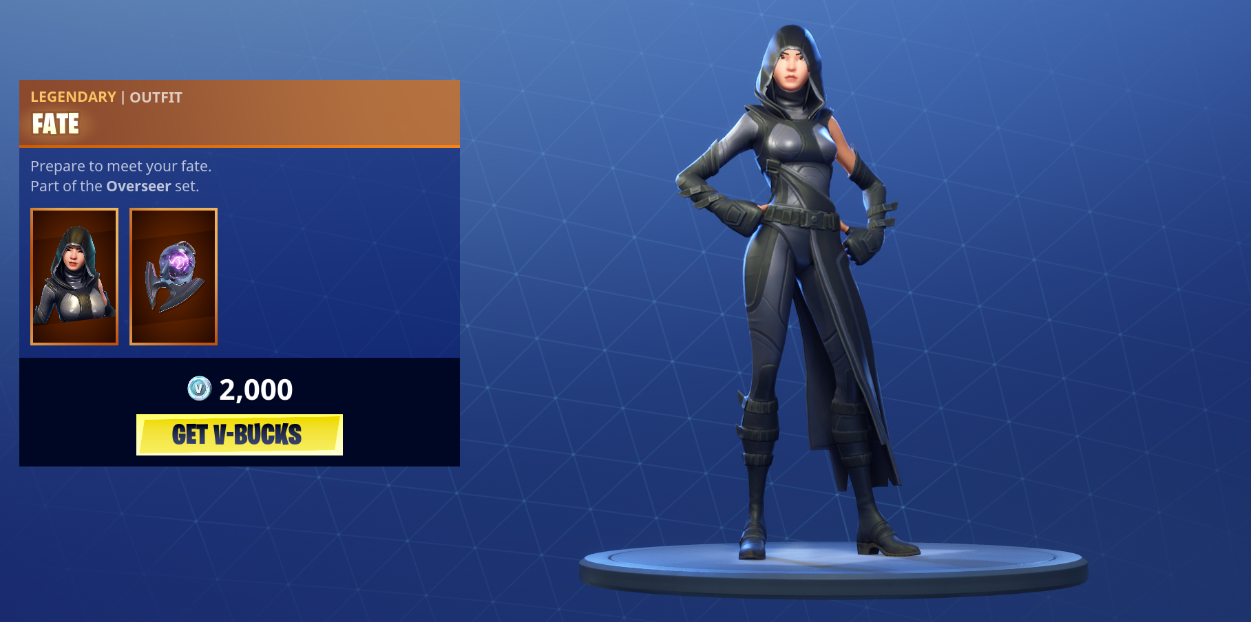 Fate Calls New Skins To Fortnite With The Overseer Set