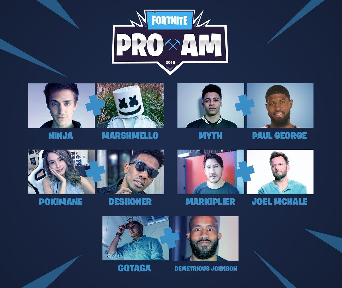 Fortnite Celebrity Pro-Am E3 2018