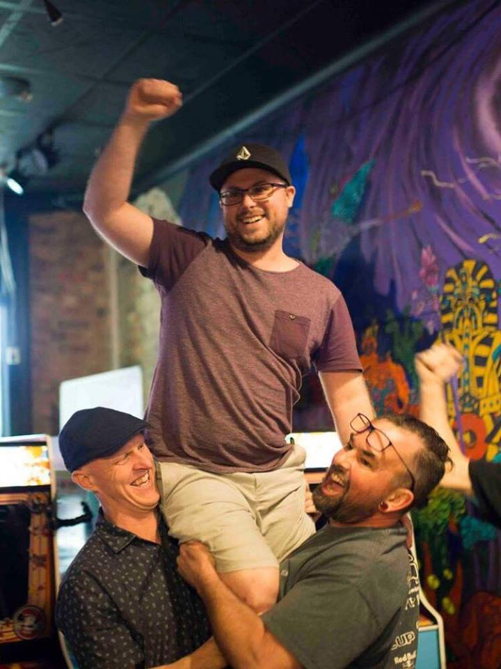 With players and organizers like Jimmy Nails, Shane Sawle, Richie Knucklez (left to right) actively repping the arcade scene, live competition may just be the excitement these classic games need to thrive in the current day.