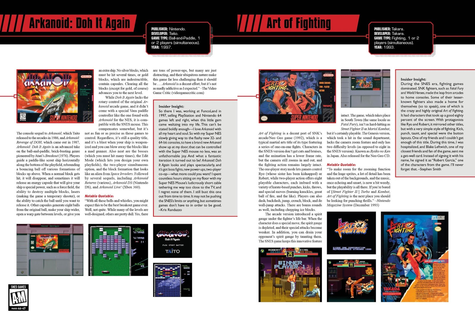 Brett Weiss Talks SNES Omnibus, Writing About Retrogaming