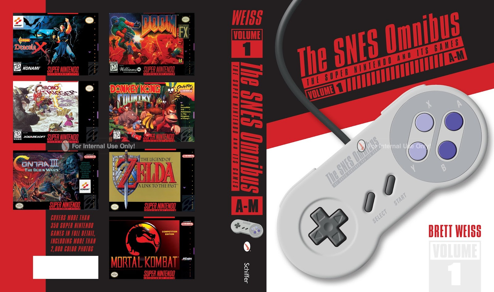 The SNES Omnibus is not just a wealth of information, but it is stylish as well.