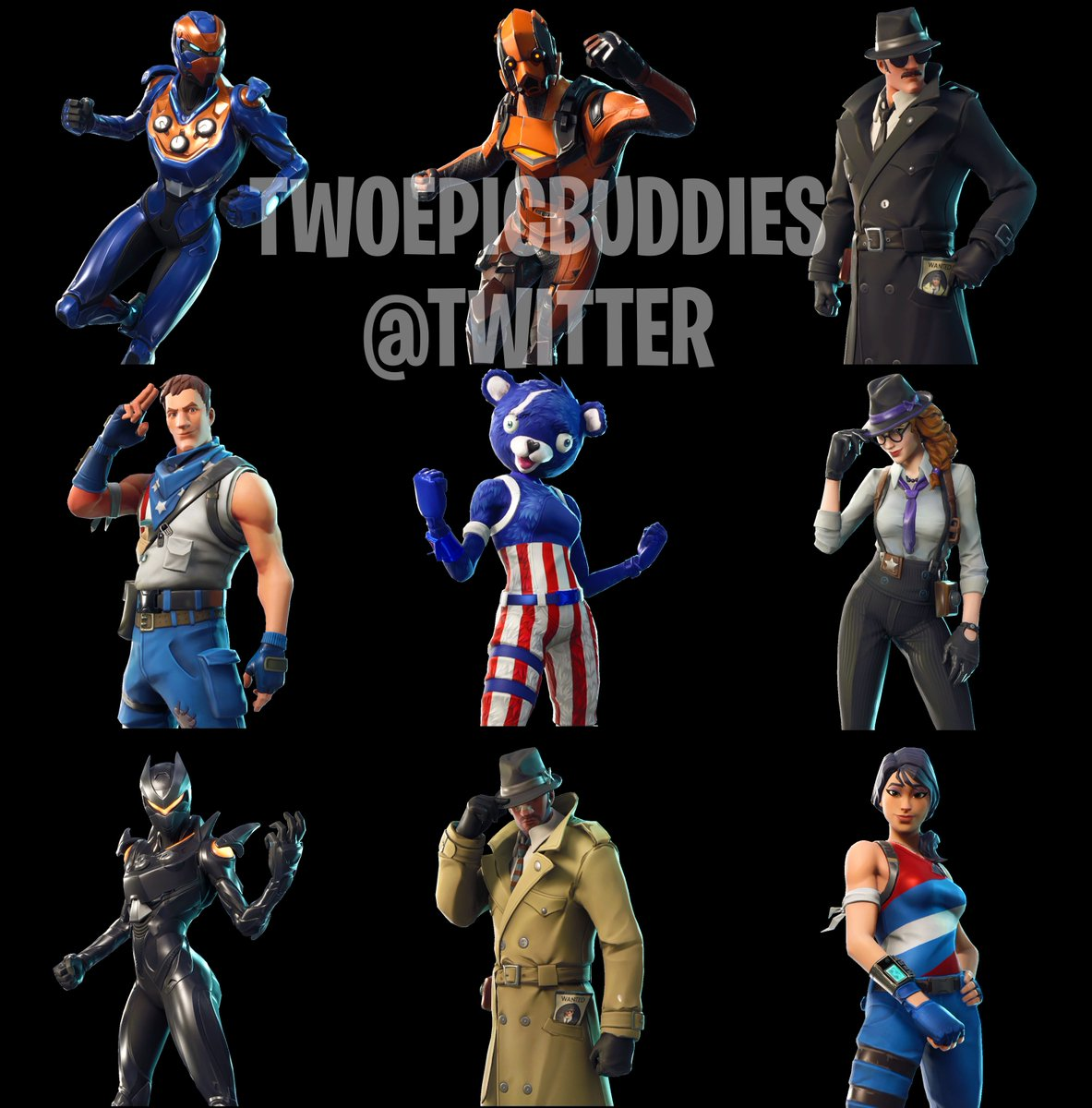 TwoEpicBuddies Has Leaked New and Upcoming Fortnite Skins and Cosmetics