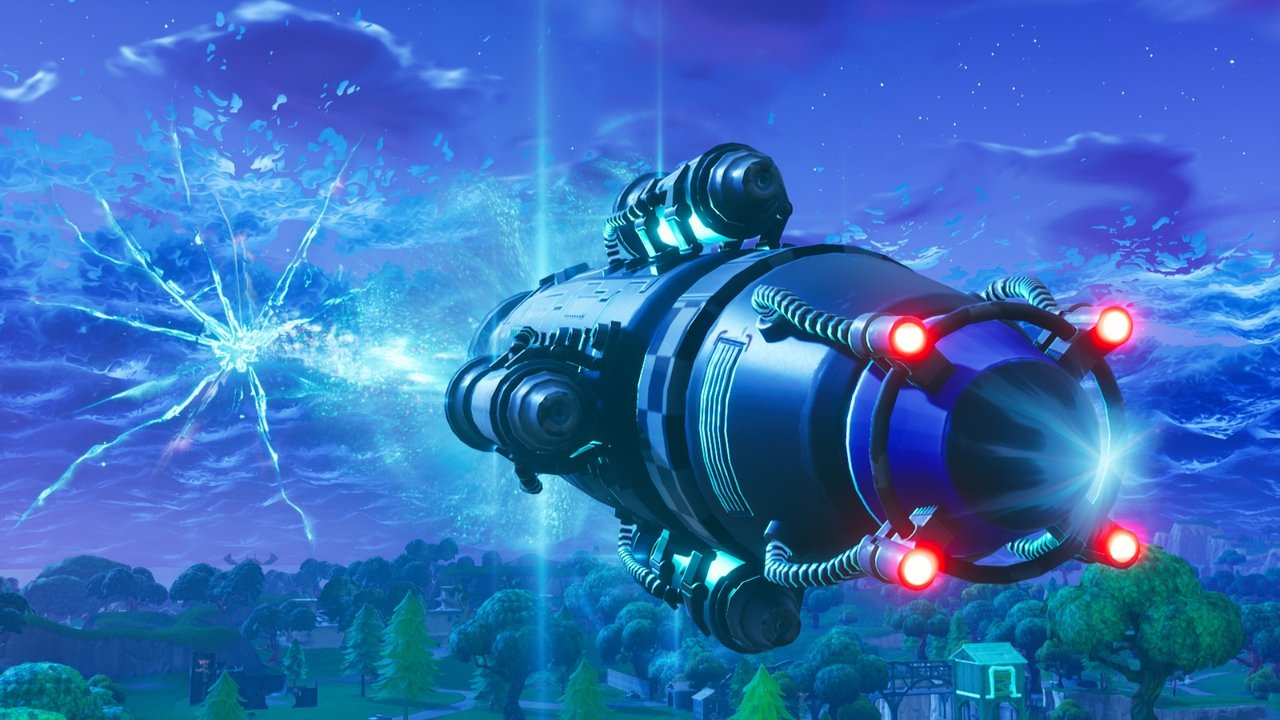 Fortnite Sky Crack Fan Theory Points to Time Travel by the Visitor
