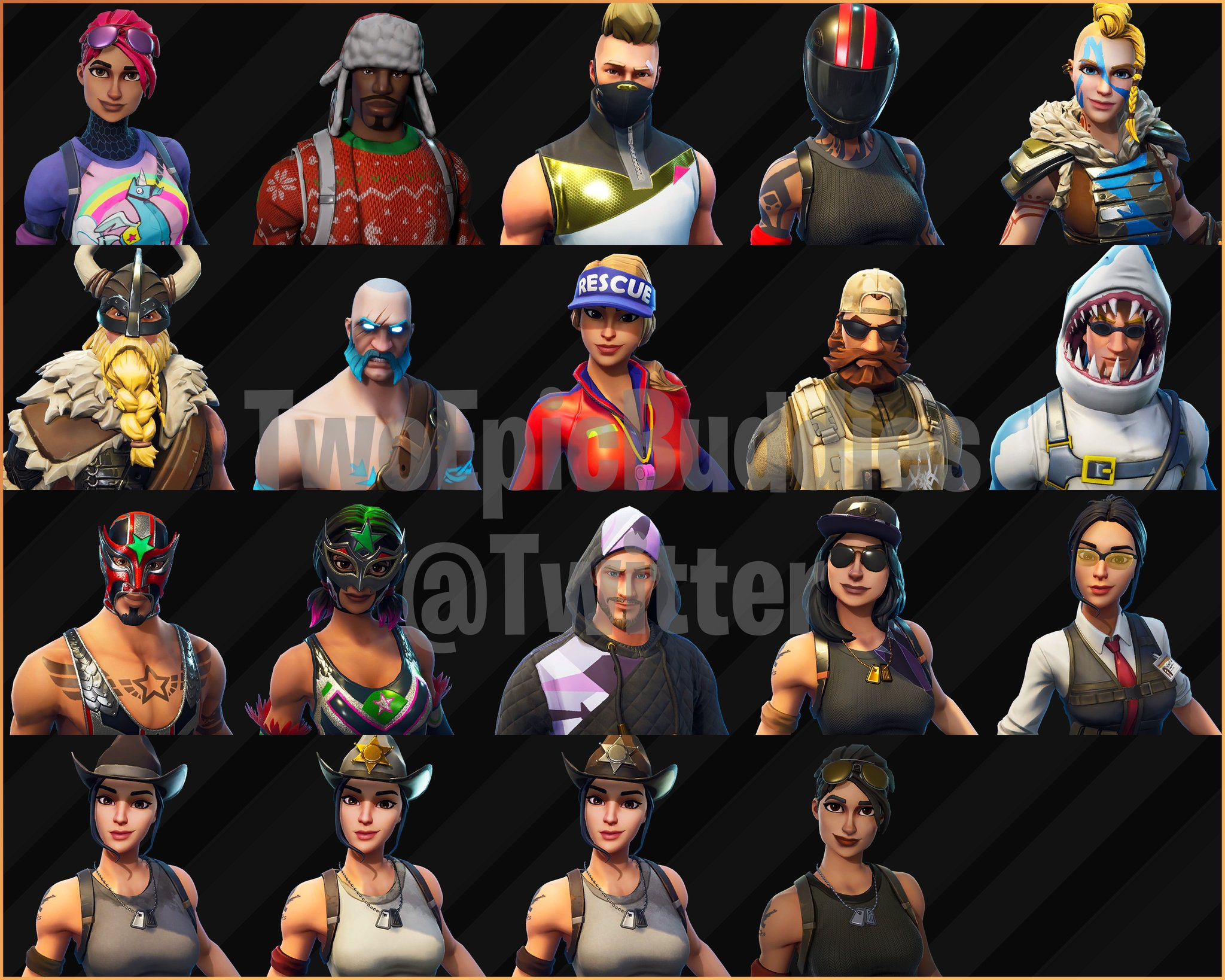 Fortnite Season 5 Skins Gliders Emotes And Battle Pass Unlocks Leaked