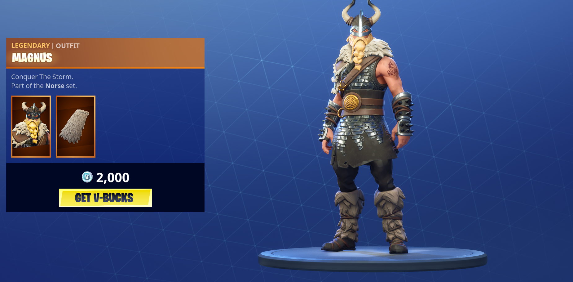 Fortnite Cape magnus outfit arrives in fortnite