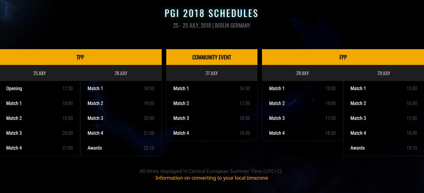 First Pubg Invitational Will Take Place At Gamescom In: PUBG Global Invitational 2018 (PGI 2018)