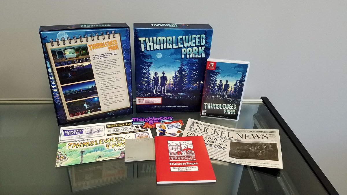 Thimbleweed Park will live much longer as a physical release.