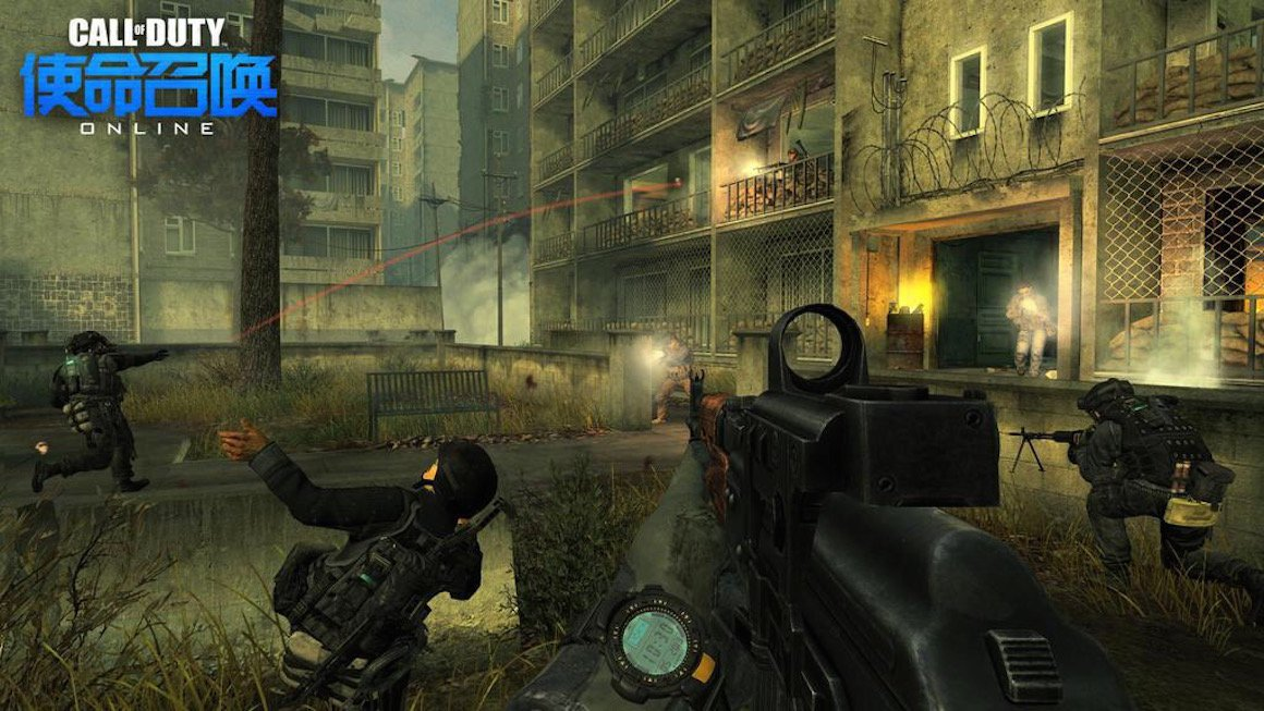 Activision And Tencent Bringing New 'Call of Duty' Mobile Game To China