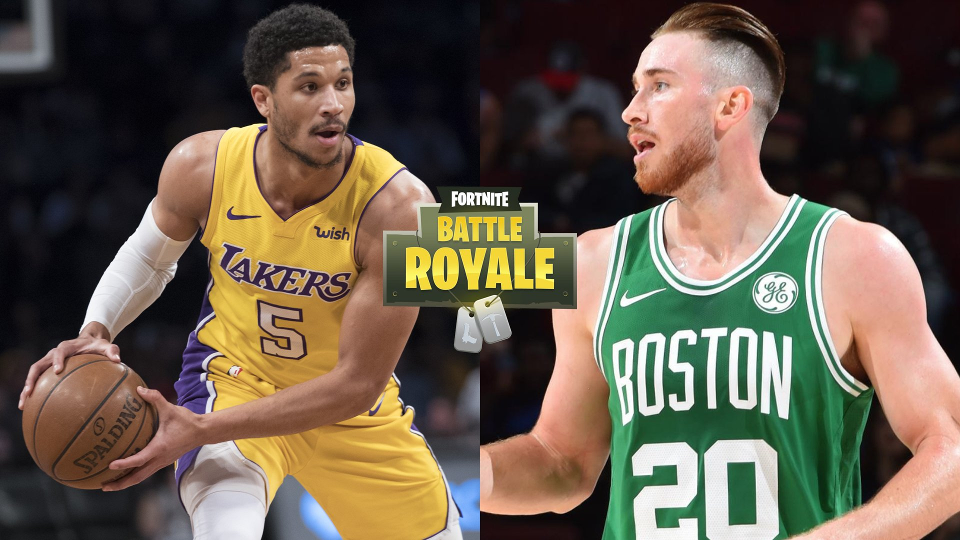 Who would root for in a Fortnite match between Josh Hart and Gordon Hayward?