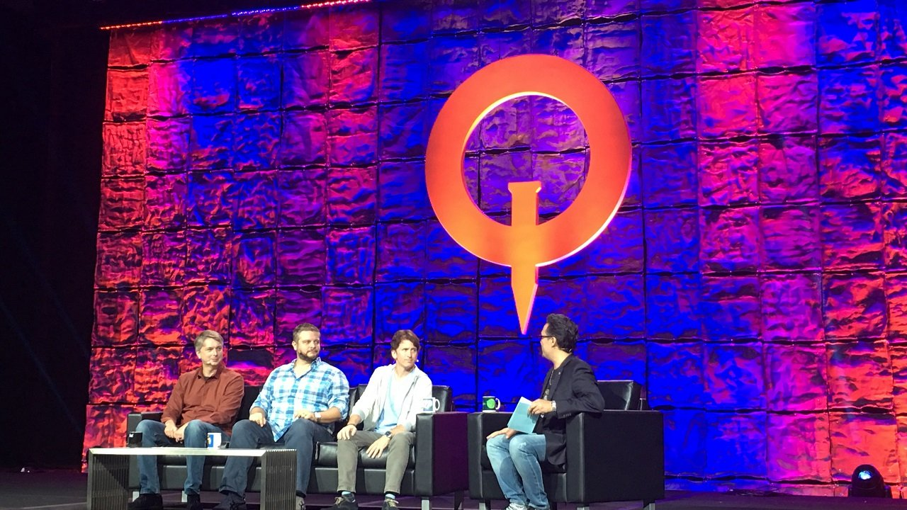 Development Director Chris Meyer, Project Lead Jeff Gardiner, and Game Director Todd Howard (left to right), sat down at QuakeCon to share a massive slew of details about the hotly anticipated Fallout 76.
