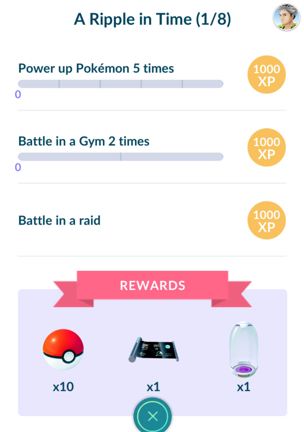 A Ripple in Time - Celebi Pokemon Go Quest Special Research
