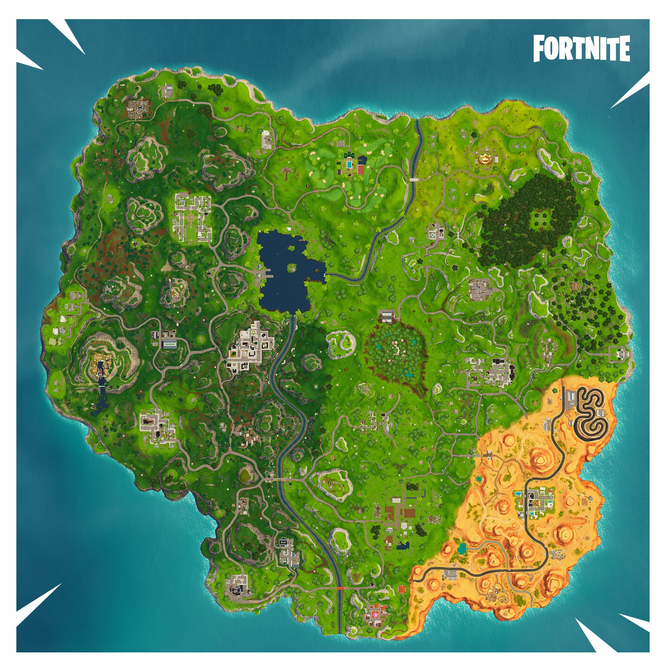 head up to risky reels to find the sixth road trip star - leviathan head fortnite