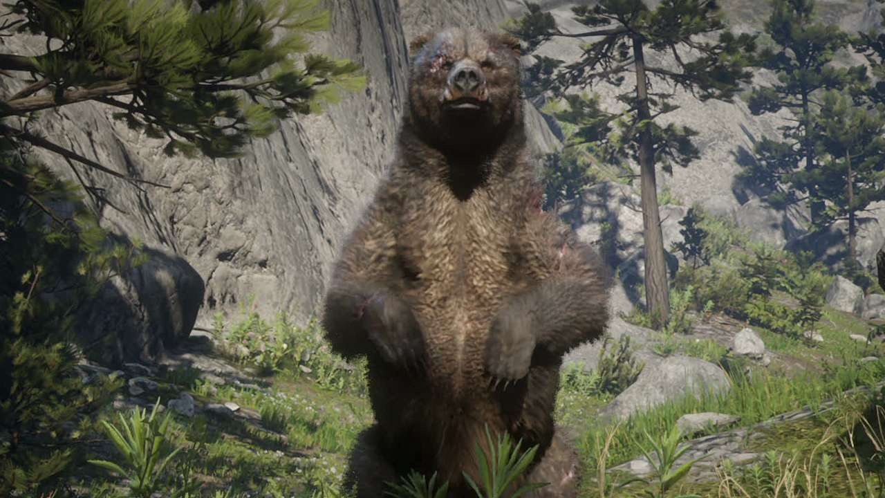 Red Dead Redemption 2 Legendary Bear Pelt Bharati Grizzly Bear