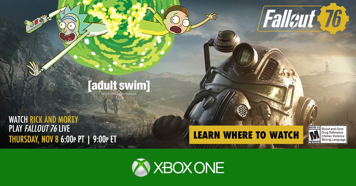 Ninja, Logic, Rick and Morty Are Going to Play Fallout 76