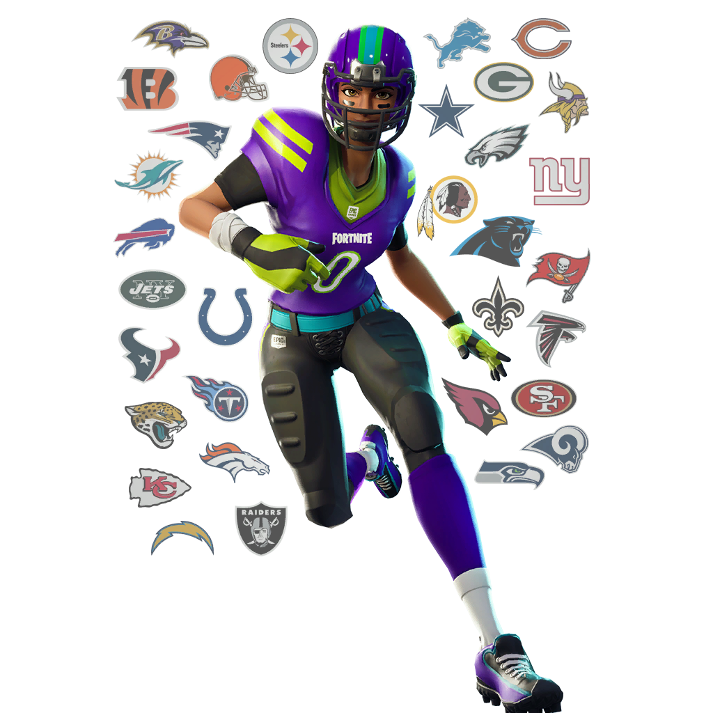 Fortnite NFL Football Skins, Glider, Pickaxes and Emotes ...