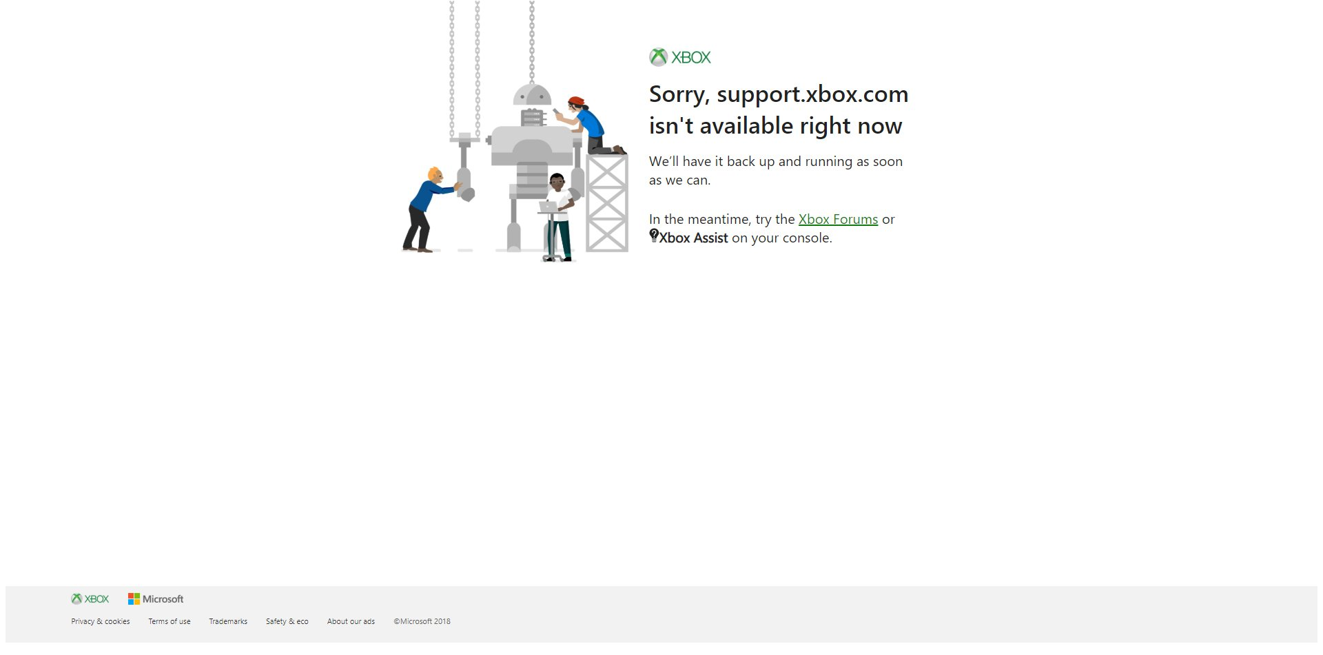 Xbox One Black Home Screen of Death Issue Being Investigated