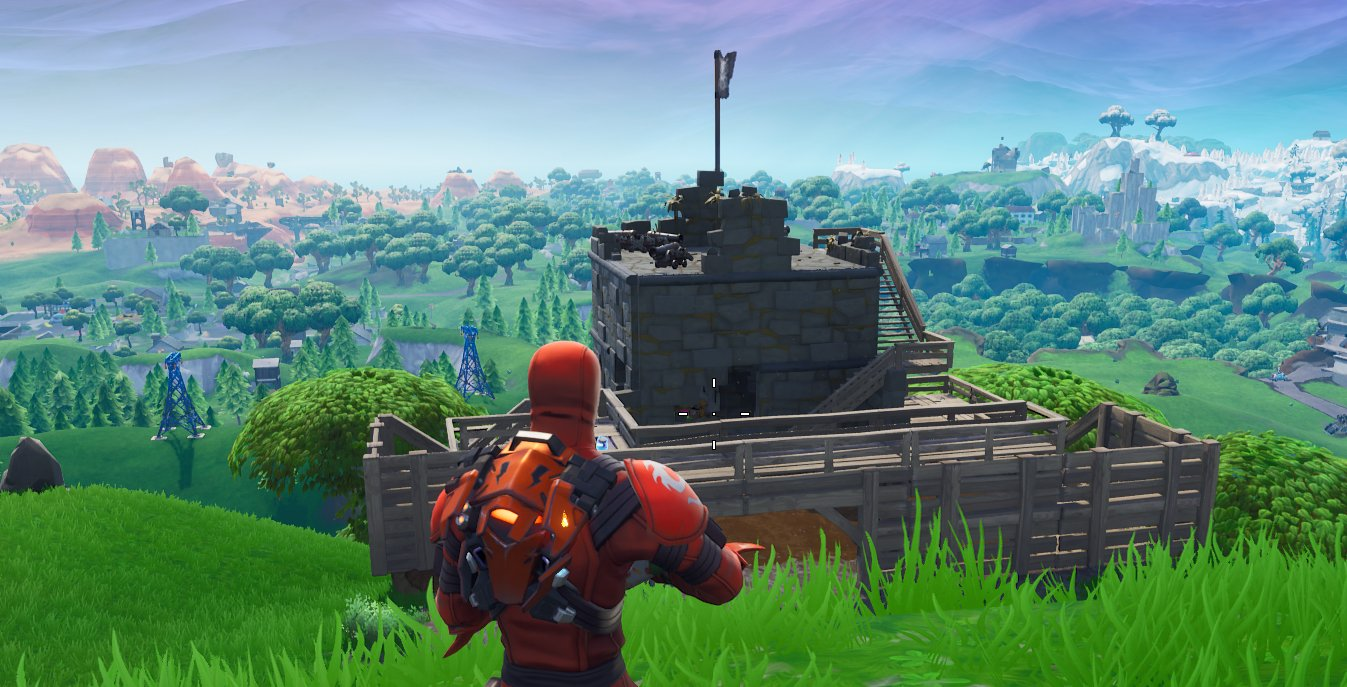 fortnite pirate camps locations season 8 week 1 challenges - visit all 7 pirate camps fortnite