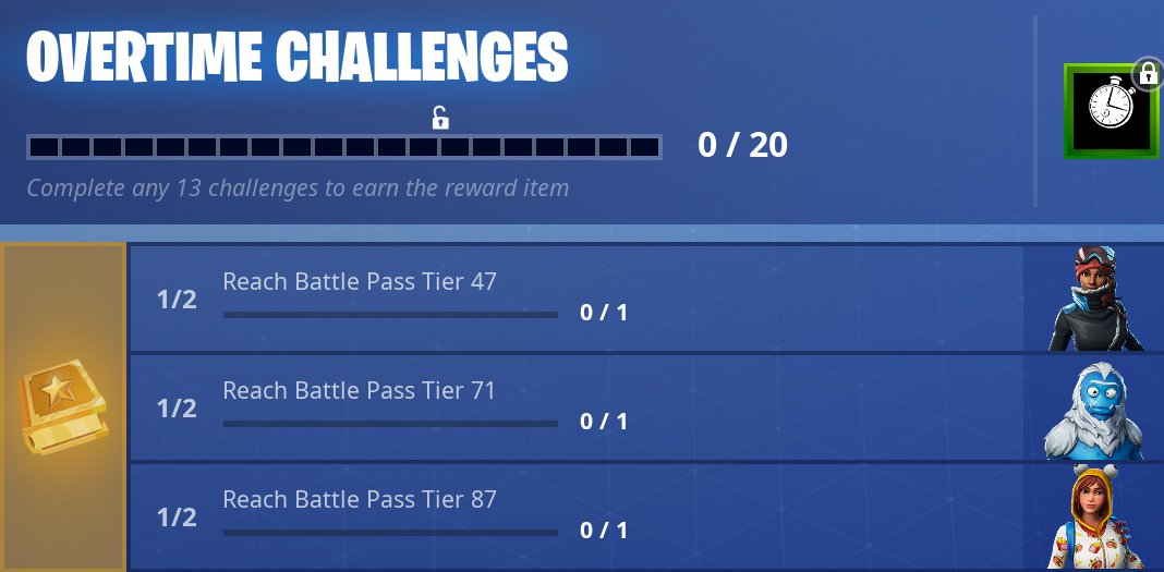 free fortnite season 8 battle pass overtime challenges - fortnite battle pass umsonst