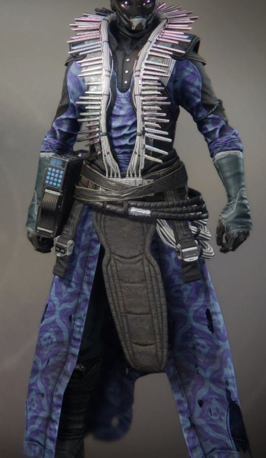 The Blue Robes of Chromatic Fire