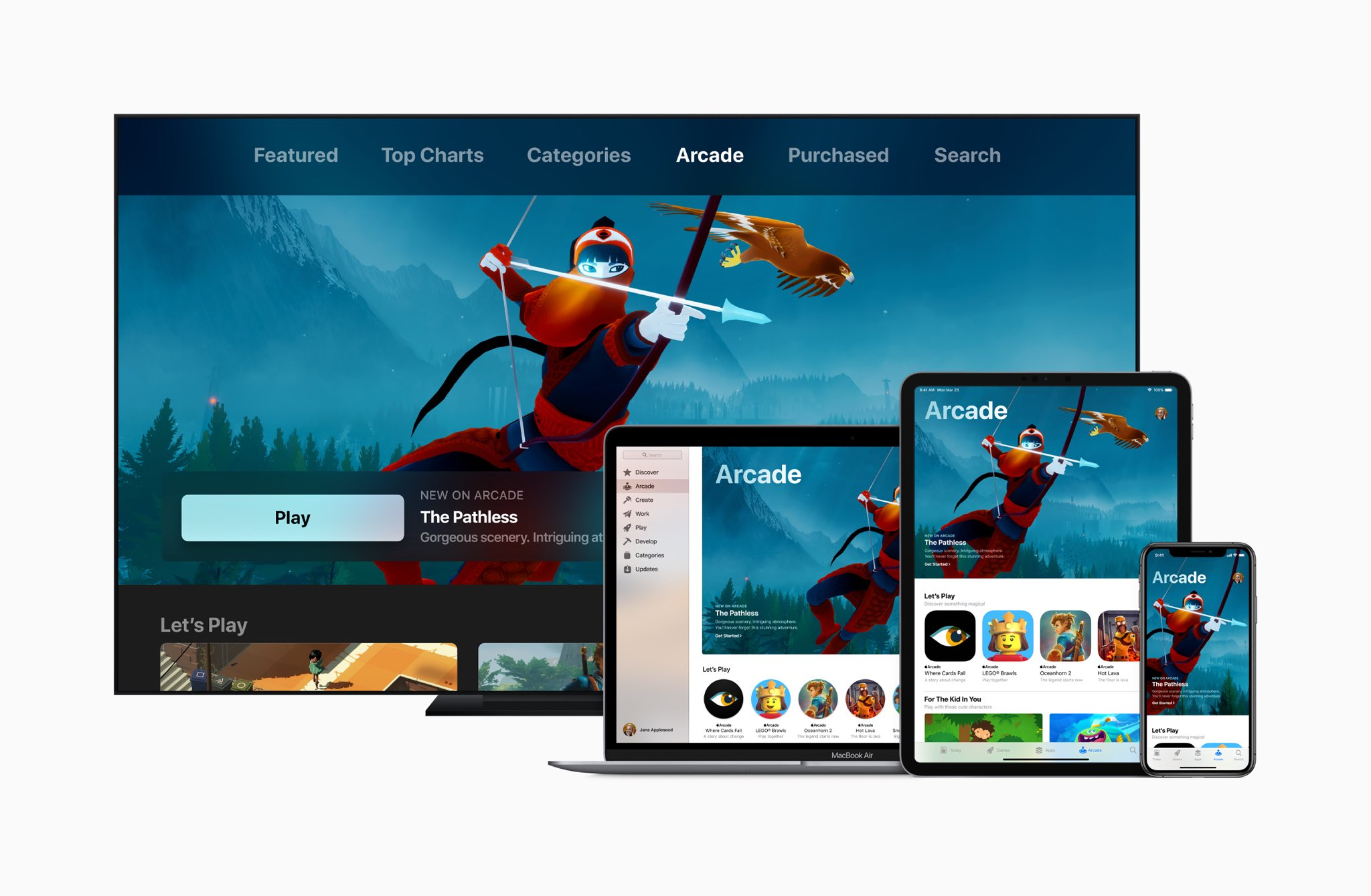 Apple announces 'Apple Arcade' game subscription service
