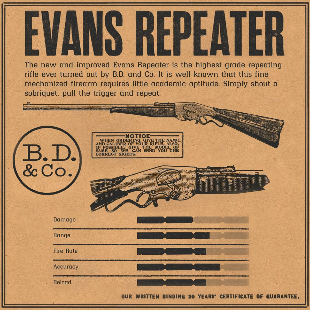 Evans Repeater RDR2