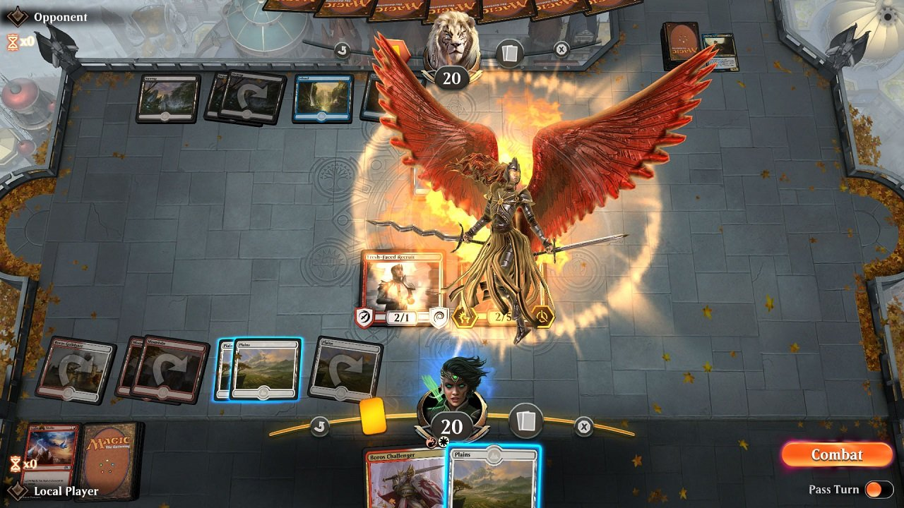 Schmiedicker loves an angel deck, so if you see him in the arena expect a lot of this view.