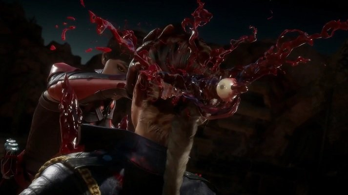 Skarlet's Bloody Mess fatality will give you a pounding headache.