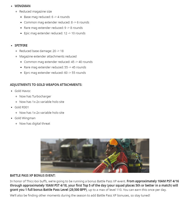 Apex Legends 1 1 1 Update Patch Notes Reddit: New Fortified Perk