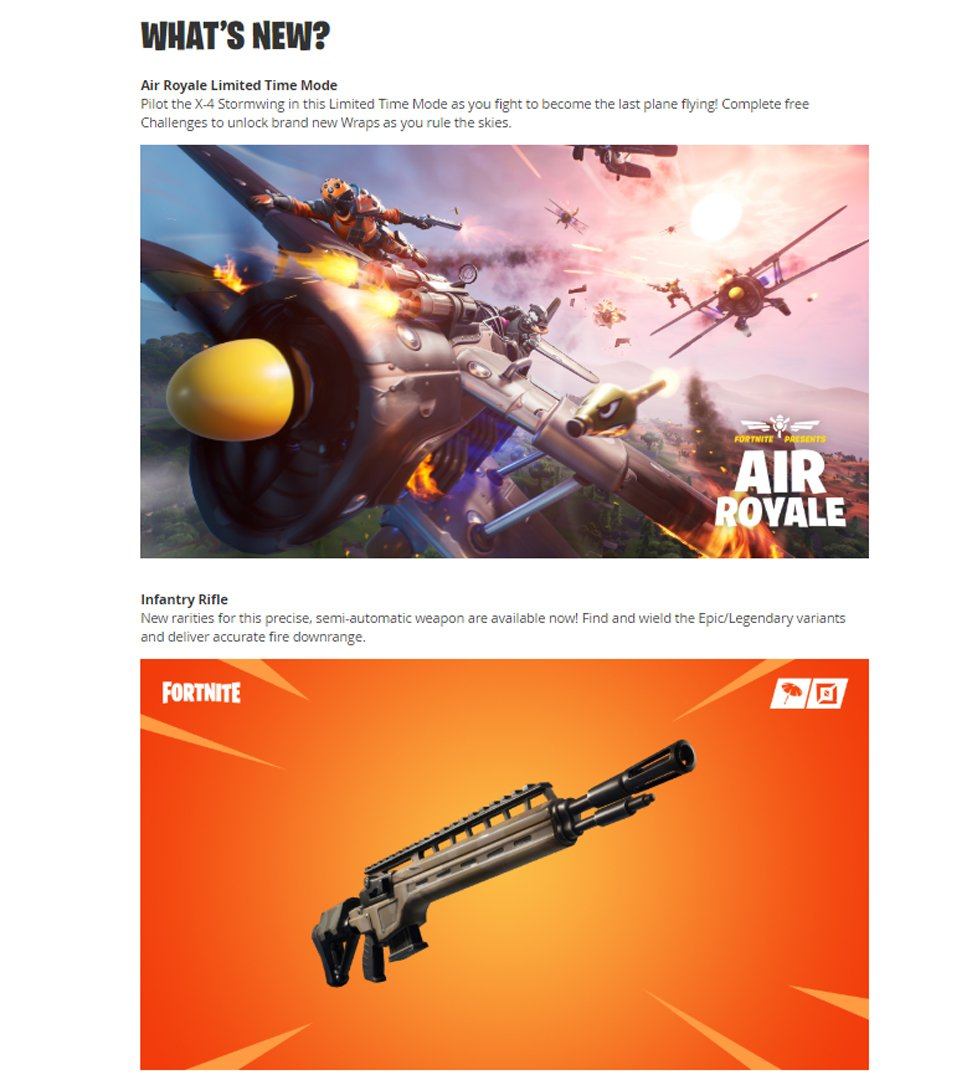 fortnite version 8.40 patch notes